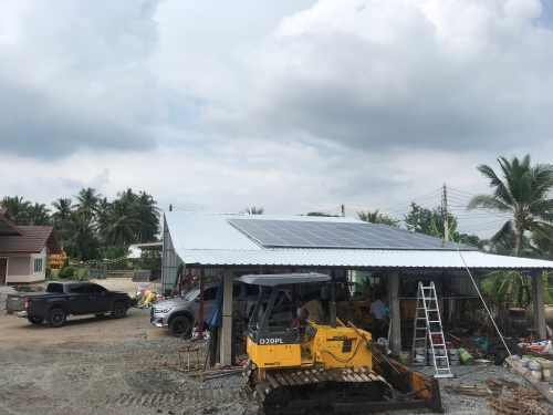 Thailand Hybrid 10KW project f...